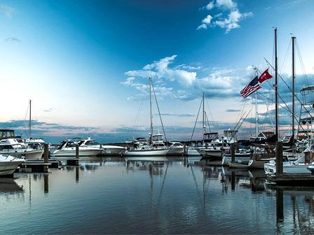beaufort downtown marina parking