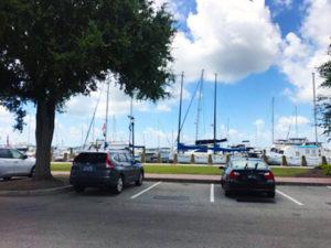 marina lot beaufort parking